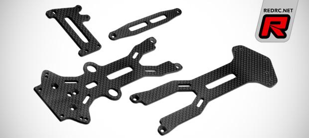 JConcepts B44.3 carbon fibre option parts