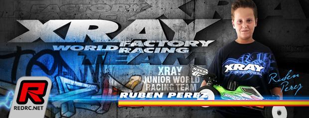Ruben Perez joins Xray Junior Team