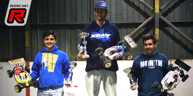 Matias doubles at RC Indoor Oeste opening race
