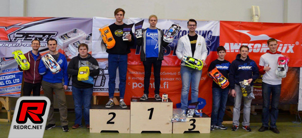 Viljami Kutvonen wins at Russian Touring Masters
