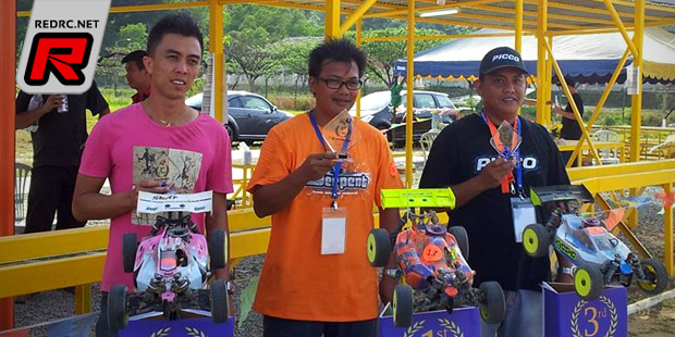 Jordan Chong wins at Sabah Borneo off-road race
