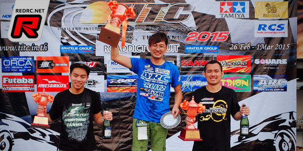 PY Tang wins Open Boost Class at 2015 TITC