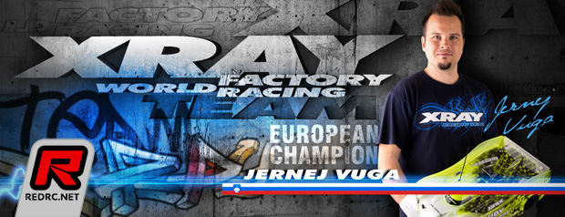 Jernej Vuga re-signs with Xray