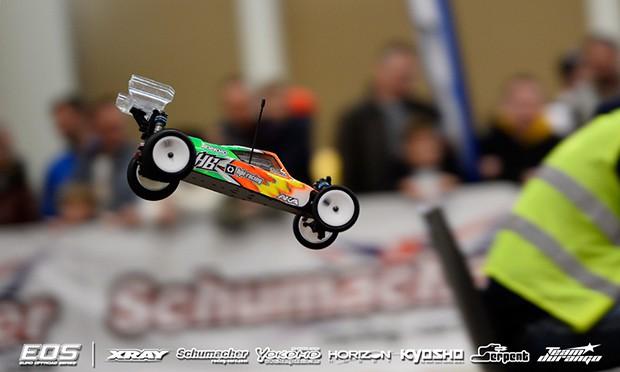 Ronnefalk TQ's third 2WD qualifier