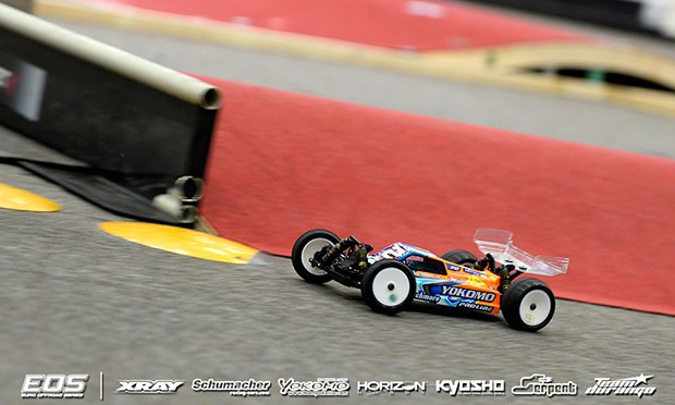Martin kicks off 4WD with TQ run