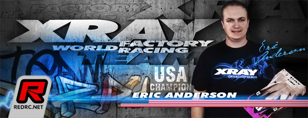 Eric Anderson re-signs with Xray