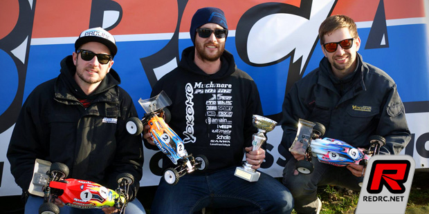 Lee Martin sweeps BRCA 1/10th Buggy Nationals Rd1