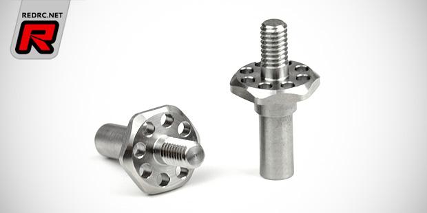 Exotek T5 & DEX210 Flite titanium front axles