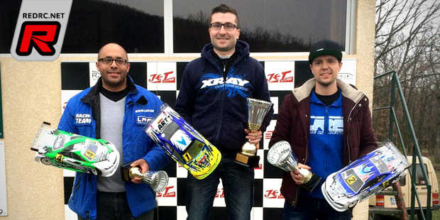 Laurent & Delorme win at French TC Nats Rd1