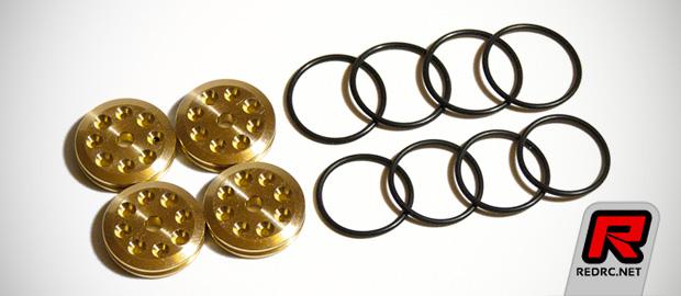 Imbue V2 brass shock pistons