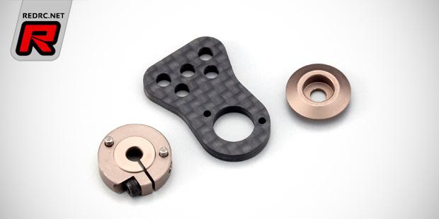 KO Propo carbon servo horn & black servo lead