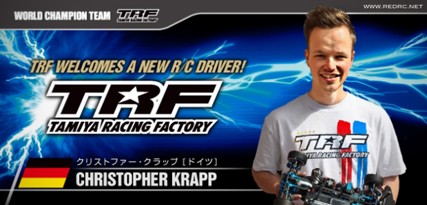Christopher Krapp joins Tamiya/TRF Factory Team