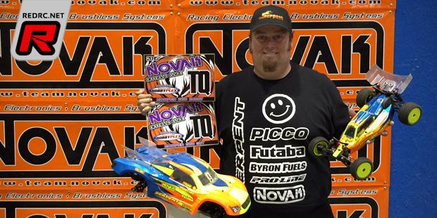 Mike Truhe TQ's & wins at the Novak Race at the Plex