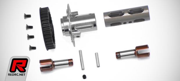 Serpent 748 solid front axle set