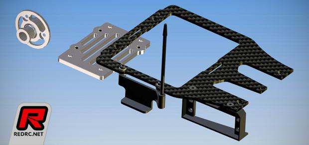 Sprint RC 977E conversion kit & rear CF body stiffener