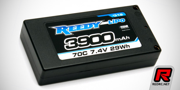 Reedy 3900mAh 70C 7.4V LP LiPo shorty battery pack