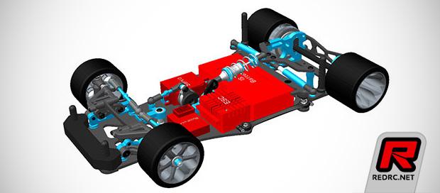 Teamsaxo GT-300W 1/12th scale pan car kit
