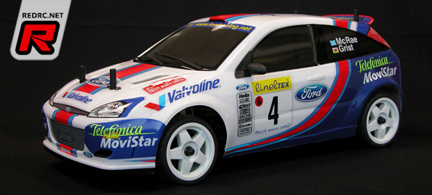 The Rally Legends Ford Focus Wrc 2001 Rtr Kit Red Rc Rc Car News