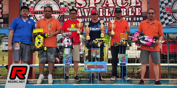 Jason Nugroho wins WillSon Track Grand Opening race