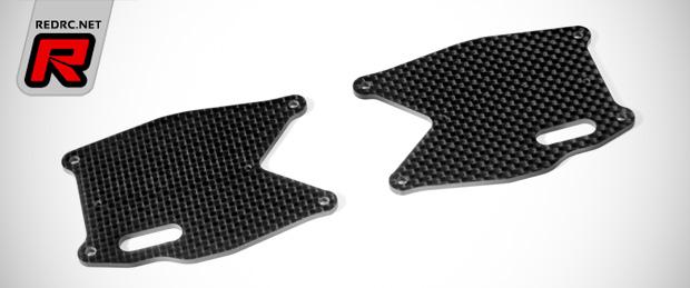 Xray XB8 graphite lower arm plates