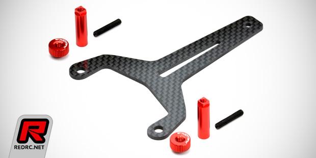 Exotek RB6 strap & twist nut shorty LiPo mount set
