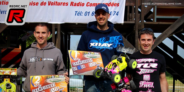 Yannick Aigoin takes French Nitro Buggy Champs Rd3