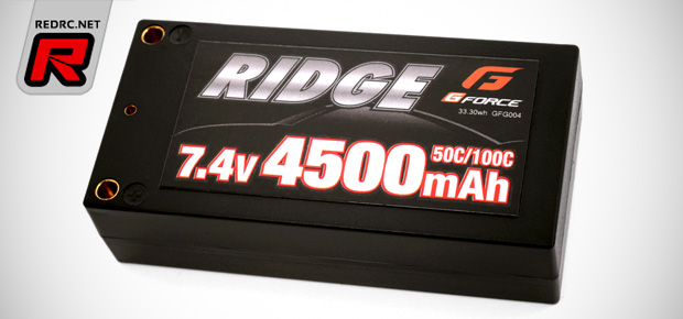 GForce Ridge shorty & low-profile shorty LiPo batteries