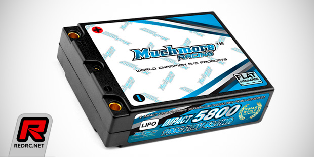 Muchmore Impact FD2 square LiPo battery pack