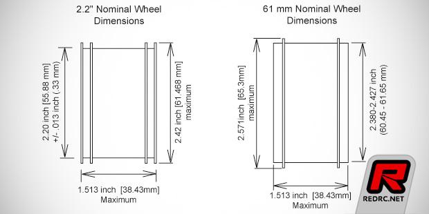 ROAR updates 1/10th buggy wheel rules