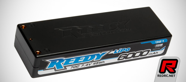 Reedy 6000mAh 70C 2S competition LiPo battery