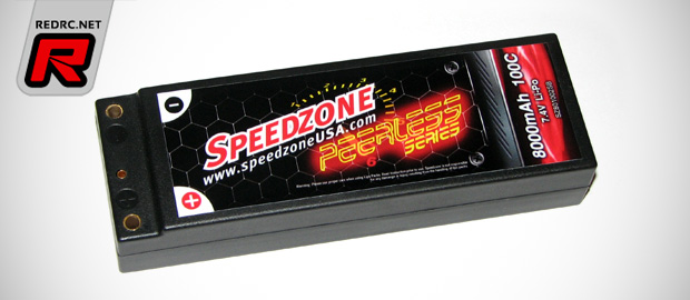 Speedzone 8000mah 100C LiPo battery packs