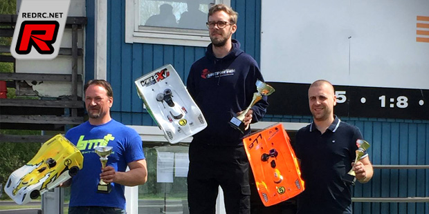 Marcus Lindner takes Swedish National Series Rd2