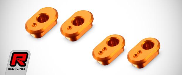 Xray X1 aluminium eccentric suspension bushings