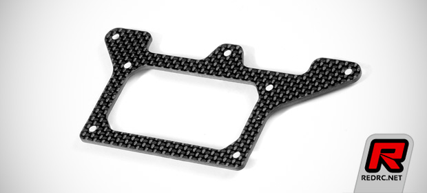 Xray X1 2mm graphite chassis & rear pod lower plate