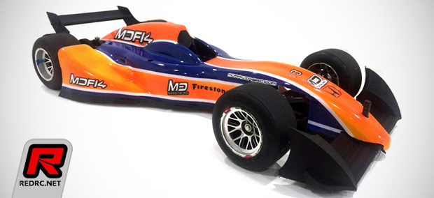 MD Racing Formula E bodyshell – Preview