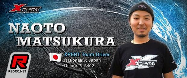 Naoto Matsukura joins Xpert R/C