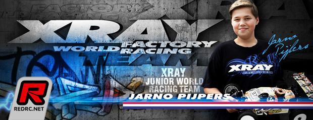 Jarno Pijpers joins Xray Junior Racing Programm