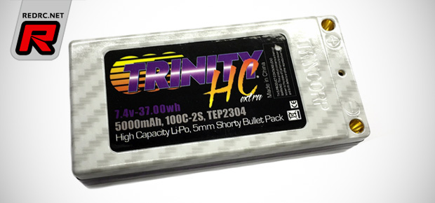 Trinity While Carbon Extra shorty LiPo battery pack