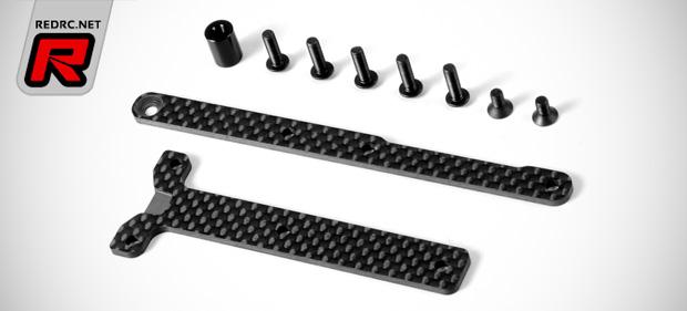 Xray XB4 graphite chassis braces