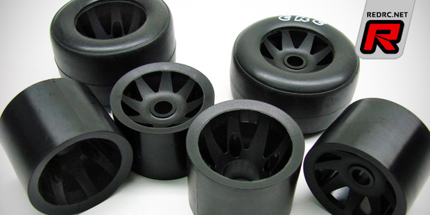 CRC 1/10th GTR wheels & RT1 rubber tyres