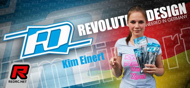 Revolution Design Racing Products sign Kim Einert