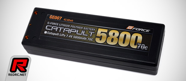 GForce Catapult high-performance LiPo batteries