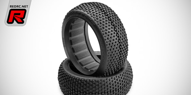 JConcepts Chasers black compound 1/8th buggy tyres