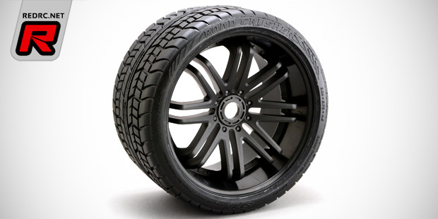 Sweep Racing SRC Revo-series pre-mounted tyres