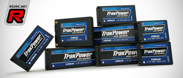TrakPower Century competition LiPo batteries