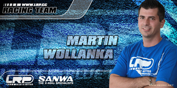 Martin Wollanka teams up with LRP