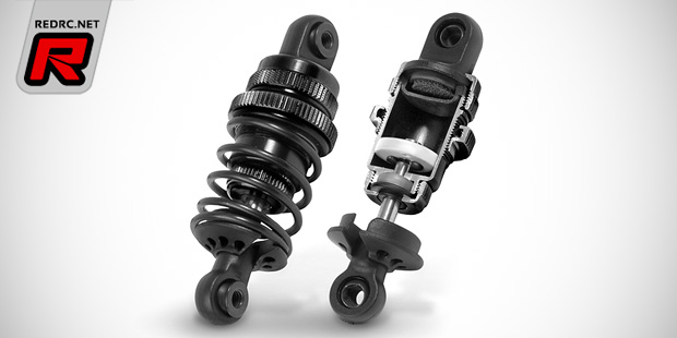 Xray black 1/10th touring car shock absorbers