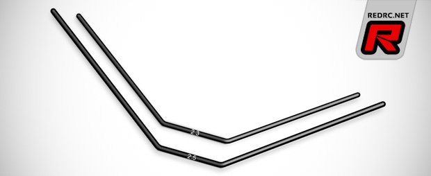 Additional Xray XB8 front & anti roll bar sizes