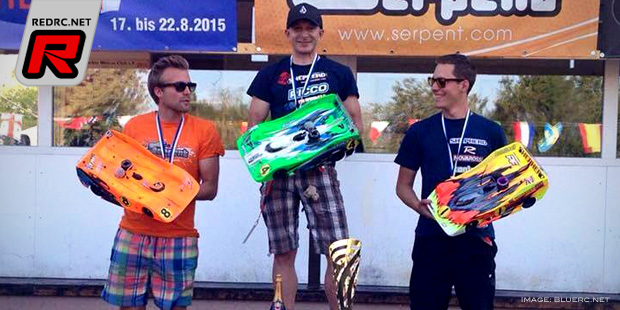 Oliver Mack claims maiden 1/8th Euro A title