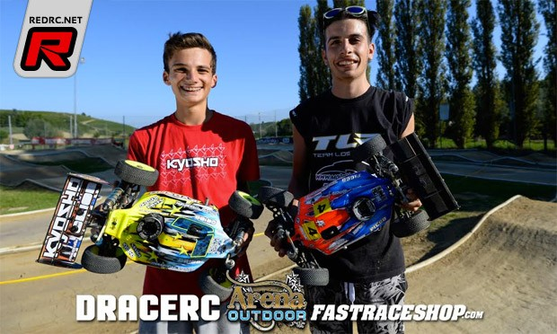 Berton snatches TQ from Baruffolo at Arena Race